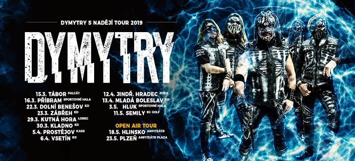 Dymytry - S nadějí tour 2019