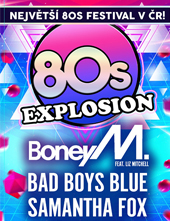 80s EXPLOSION BAD BOYS BLUE, BONEY M, MILLI VANILLI SAMANTHA FOX, FRANCESCO NAPOLI