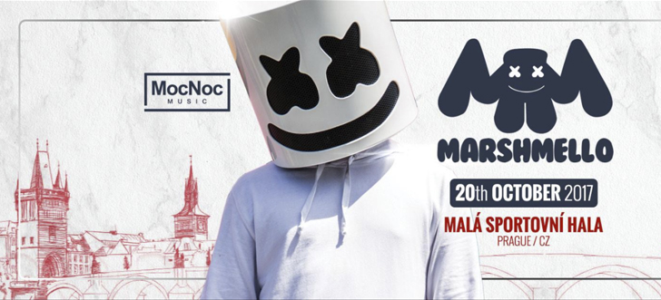 Marshmello in Prague Vstup/Entrance 15+