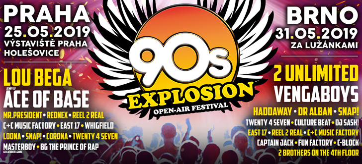 90s EXPLOSION OPEN-AIR FESTIVAL 2019
