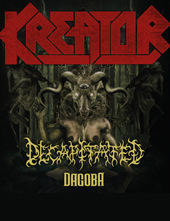 Kreator - Gods Of Violence Tour