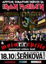 Iron Maiden Tribute (UA)Motörreptile Motörhead tribute band, Plzeň, 18/10/2018 19:00